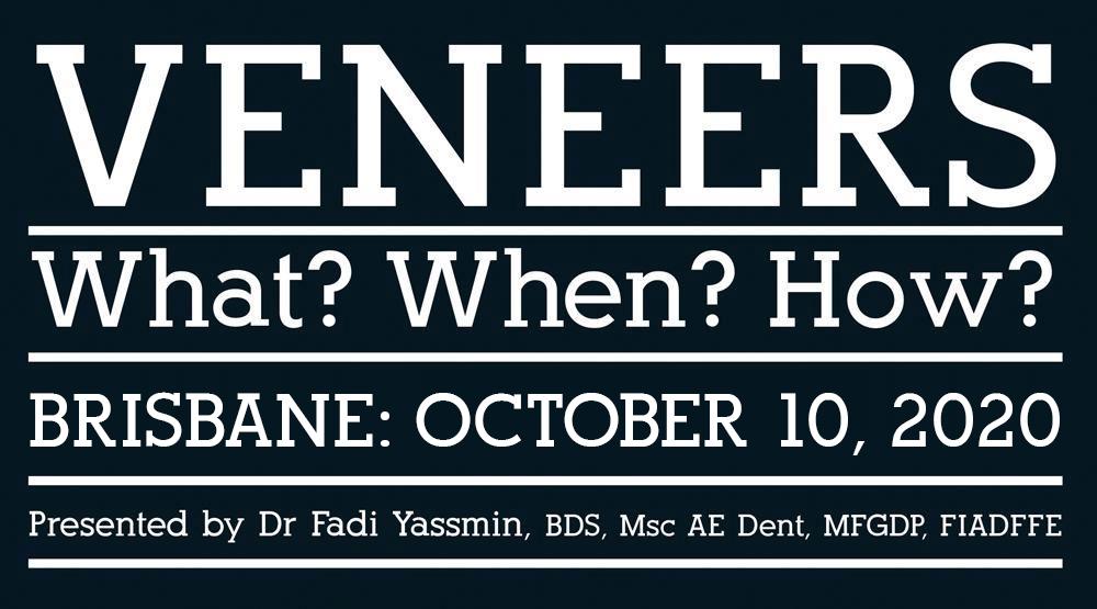 Veneers: What? When? How?